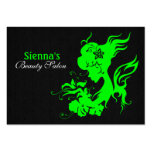 Beauty Salon Appointment Card (Lime)