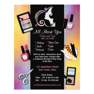 Beauty Salon - Beautician and Spa Flyer