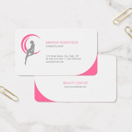 Beauty Salon Cosmetologist Spa business card
