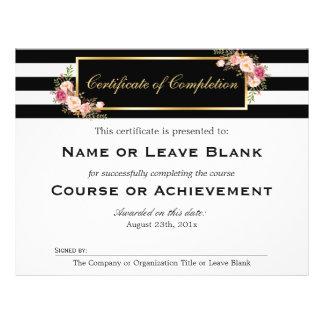 Beauty Salon Course Certificate of Completion 21.5 Cm X 28 Cm Flyer