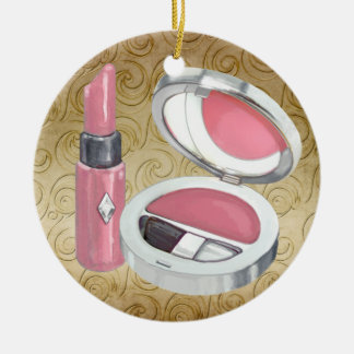Beauty - Salon - Decked Out Diva Christmas Ornament