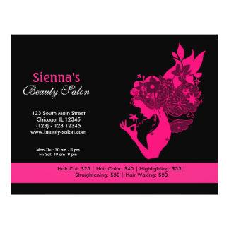 Beauty Salon (Deep Pink) 21.5 Cm X 28 Cm Flyer