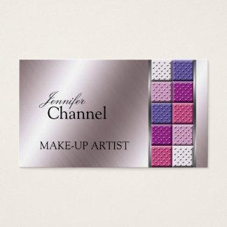 Beauty Salon Make-Up Artist Business Cards
