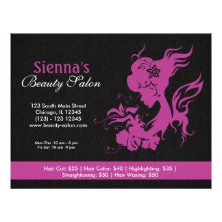 Beauty Salon (Plum) 21.5 Cm X 28 Cm Flyer