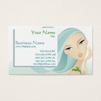 Beauty Salon Spa business card