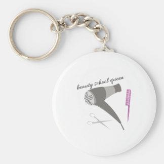 Beauty School Keychain