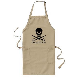 Beauty Shop Pirate 1 Long Apron