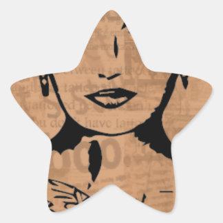 Beauty Star Sticker