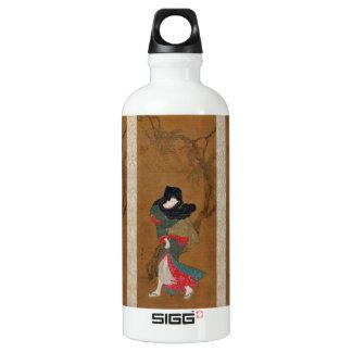 Beauty Summer Breeze Torii Kiyonaga geisha scroll SIGG Traveller 0.6L Water Bottle