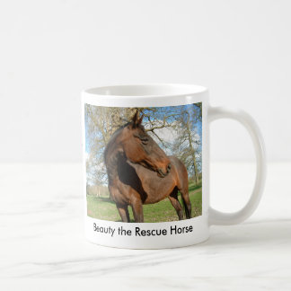 Beauty the Rescue Horse Mugs