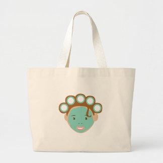 Beauty Treatment Jumbo Tote Bag