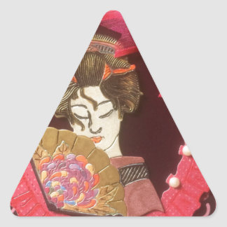 Beauty Triangle Sticker
