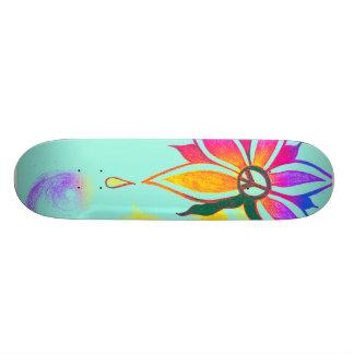 Beauty within peace- skatebord 20 cm skateboard deck