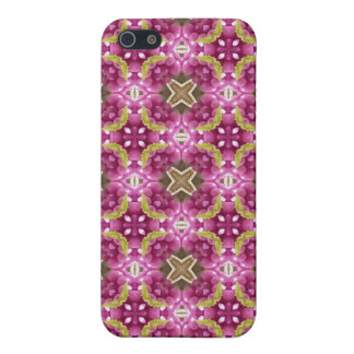 Beautyberry Kaleidoscope Pattern in Pinks iPhone 5/5S Cases