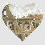 beautyful painting of Colosseum by Anna Palm Stickers