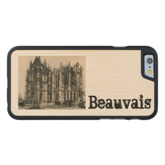 Beauvais - Cathedral replica  postcard 1920 Carved® Maple iPhone 6 Slim Case