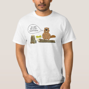 Ladies Keep Calm And Love Beaver Rodents Animal Lover Wild Funny T-Shirt Tee