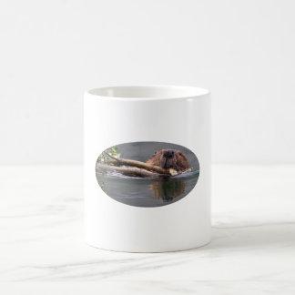 Beaver Basic White Mug