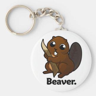 Beaver Beaver. Key Ring