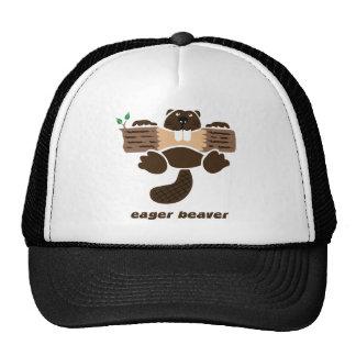 beaver beaver more otter more eager cap