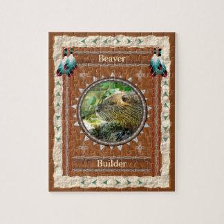 Beaver -Builder- Jigsaw Puzzle w/ Gift Box