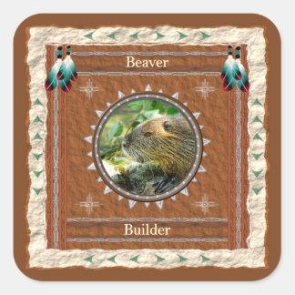 Beaver -Builder- Stickers - 20 per sheet