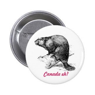 Beaver Canada eh?  Lighthouse Route 6 Cm Round Badge