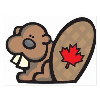 Beaver Canada Postcard