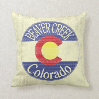 Beaver Creek Colorado decorative pillow