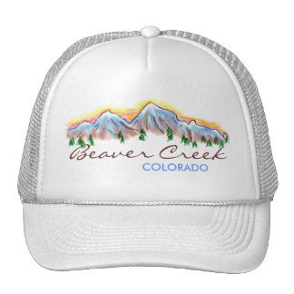Beaver Creek Colorado mountain art hat