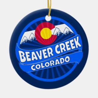 Beaver Creek Colorado mountain burst ornament