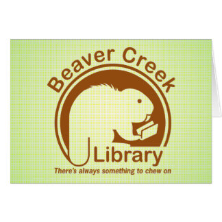 Beaver Creek Library Greeting Card