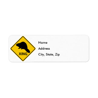 Beaver Crossing Highway Sign