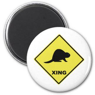 Beaver crossing magnet