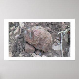 Beaver Dam Slough Geology Rock Earth History Stone Poster