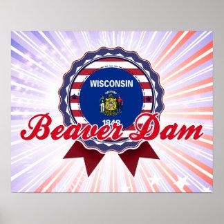Beaver Dam, WI Poster
