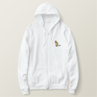 Beaver Embroidered Hoodie