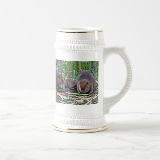 Beaver Family Mugs