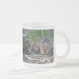 Beaver Family Mug