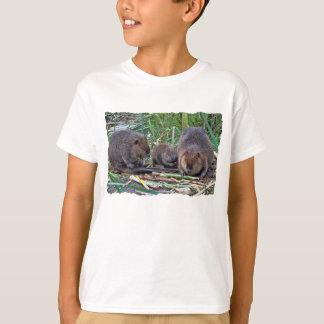 Beaver Family Tee Shirt