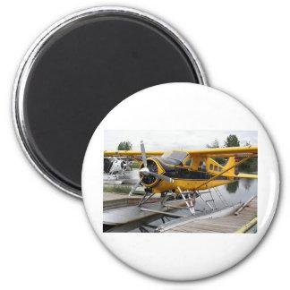 Beaver Float Plane Lake Hood Alaska USA Fridge Magnets