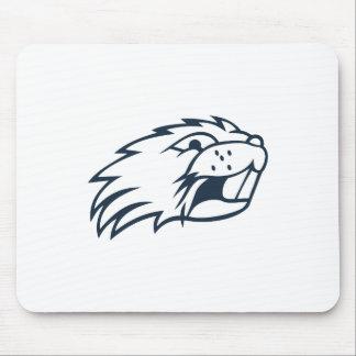 Beaver Head Mouse Pad