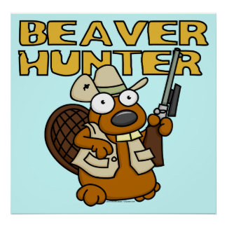 Beaver Hunter Poster