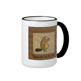 Beaver in Profile Mug