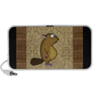 Beaver in Profile Notebook Speaker