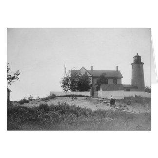 Beaver Island Head Lighthouse Card