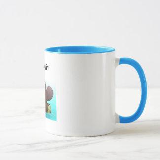 Beaver just chillin' mug