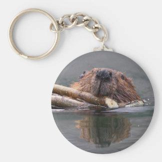 beaver key chains