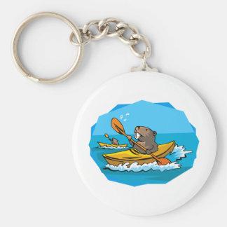 Beaver Key Ring