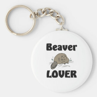 Beaver Lover Key Ring